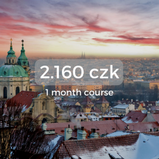 2.160 czk 1 month course