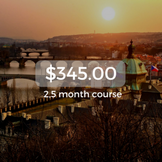 $345.00 2,5 month course