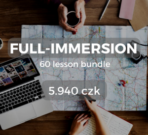 Full-immersion 60 lesson bundle 5.940 czk