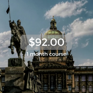 $92.00 1 month course