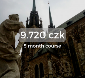 9.720 czk 5 month course