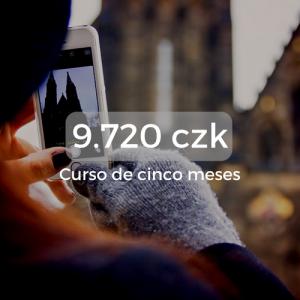9.720 czk Curso de cinco meses