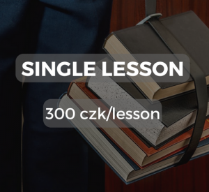 Single lesson 300 czk/lesson