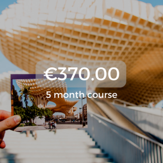 €370.00 5 month course