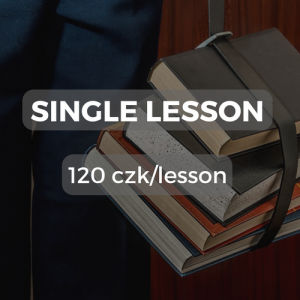 Single lesson 120 czk/lesson