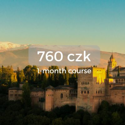 760 czk 1-month course