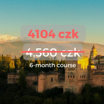4104 czk 6-month course