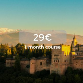 29€ 1-month course