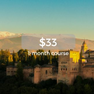 $33 1-month course