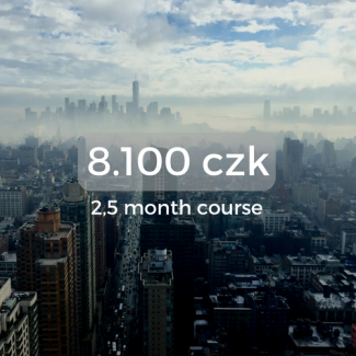 8.100 czk 2,5 month course
