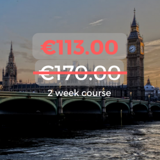 €113.00 2 week course