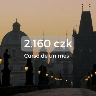 2.160 czk Curso de un mes