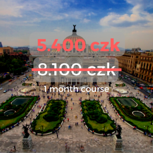 5.400 czk 1 month course