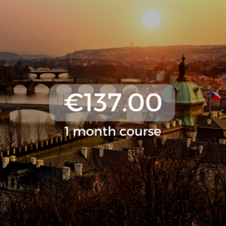 €137.00 1 month course