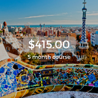 $415.00 5 month course