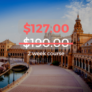 $127.00 2 week course