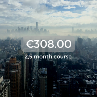 €308.00 2,5 month course